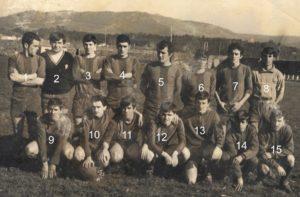Atlético de Riveira en 3ra división. Illa de Arousa 1973